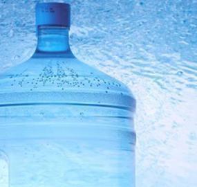 vanndispenser på jobb