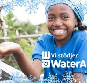 Eden Springs donerer til WaterAid