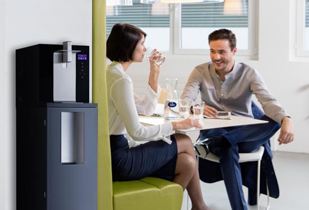 Vannkjølere tilkoblet vannforsyningen
